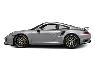 GT Silver Metallic 2016 Porsche 911 Pictures 911 Coupe 2D Turbo AWD H6 photos side view