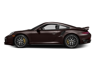 Mahogany Metallic 2016 Porsche 911 Pictures 911 Coupe 2D Turbo AWD H6 photos side view