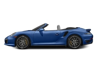 Sapphire Blue Metallic 2016 Porsche 911 Pictures 911 Cabriolet 2D AWD H6 Turbo photos side view
