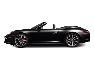 Black 2016 Porsche 911 Pictures 911 Cabriolet 2D 4S AWD H6 photos side view
