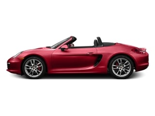 Carmine Red 2016 Porsche Boxster Pictures Boxster Roadster 2D GTS H6 photos side view