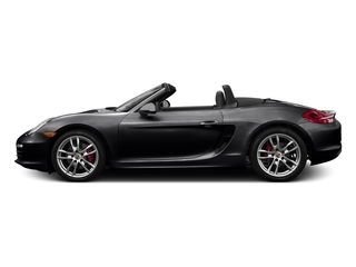 Black 2016 Porsche Boxster Pictures Boxster Roadster 2D GTS H6 photos side view