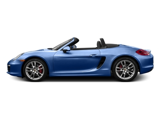 Sapphire Blue Metallic 2016 Porsche Boxster Pictures Boxster Roadster 2D GTS H6 photos side view