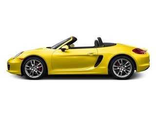 Racing Yellow 2016 Porsche Boxster Pictures Boxster Roadster 2D GTS H6 photos side view