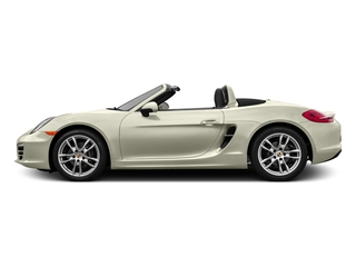 Carrera White Metallic 2016 Porsche Boxster Pictures Boxster Roadster 2D H6 photos side view