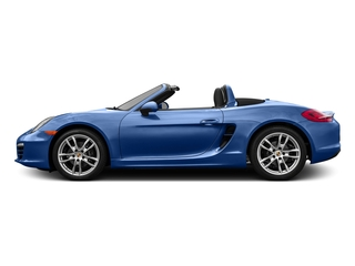 Sapphire Blue Metallic 2016 Porsche Boxster Pictures Boxster Roadster 2D H6 photos side view