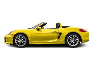 Racing Yellow 2016 Porsche Boxster Pictures Boxster Roadster 2D H6 photos side view