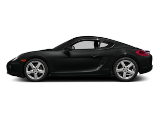 Jet Black Metallic 2016 Porsche Cayman Pictures Cayman Coupe 2D H6 photos side view