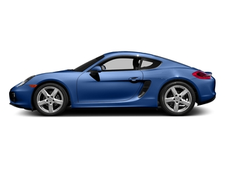 Sapphire Blue Metallic 2016 Porsche Cayman Pictures Cayman Coupe 2D H6 photos side view