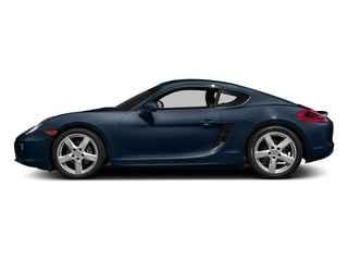 Dark Blue Metallic 2016 Porsche Cayman Pictures Cayman Coupe 2D H6 photos side view