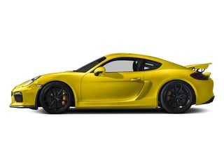 Racing Yellow 2016 Porsche Cayman Pictures Cayman Coupe 2D GT4 H6 photos side view