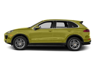 Peridot Metallic 2016 Porsche Cayenne Pictures Cayenne Utility 4D AWD V6 T-Diesel photos side view