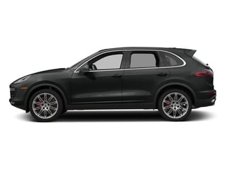 Jet Black Metallic 2016 Porsche Cayenne Pictures Cayenne Utility 4D AWD V8 Turbo photos side view