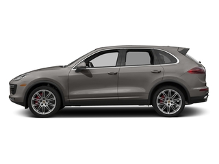 Meteor Gray Metallic 2016 Porsche Cayenne Pictures Cayenne Utility 4D AWD V8 Turbo photos side view