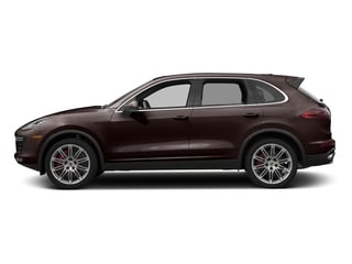 Mahogany Metallic 2016 Porsche Cayenne Pictures Cayenne Utility 4D AWD V8 Turbo photos side view