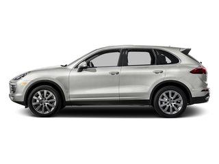 White 2016 Porsche Cayenne Pictures Cayenne Utility 4D S AWD V6 Turbo photos side view