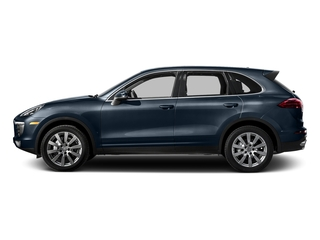 Moonlight Blue Metallic 2016 Porsche Cayenne Pictures Cayenne Utility 4D S AWD V6 Turbo photos side view