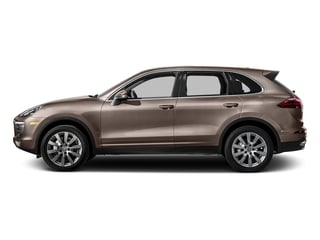 Umber Metallic 2016 Porsche Cayenne Pictures Cayenne Utility 4D S AWD V6 Turbo photos side view