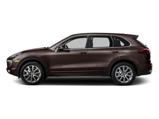 Mahogany Metallic 2016 Porsche Cayenne Pictures Cayenne Utility 4D S AWD V6 Turbo photos side view