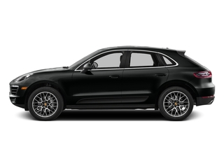 Jet Black Metallic 2016 Porsche Macan Pictures Macan Utility 4D AWD V6 Turbo photos side view