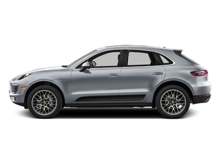 Rhodium Silver Metallic 2016 Porsche Macan Pictures Macan Utility 4D AWD V6 Turbo photos side view