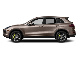 Umber Metallic 2016 Porsche Cayenne Pictures Cayenne Utility 4D S V6 e-Hybrid AWD photos side view