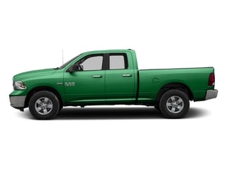 Bright Green 2016 Ram Truck 1500 Pictures 1500 Quad Cab SLT 4WD photos side view