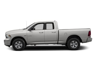 Bright Silver Metallic Clearcoat 2016 Ram Truck 1500 Pictures 1500 Quad Cab SLT 4WD photos side view