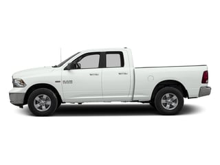 Bright White Clearcoat 2016 Ram Truck 1500 Pictures 1500 Quad Cab Express 2WD photos side view