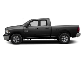 Brilliant Black Crystal Pearlcoat 2016 Ram Truck 1500 Pictures 1500 Quad Cab SLT 4WD photos side view