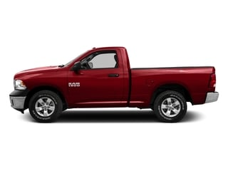 Bright Red 2016 Ram Truck 1500 Pictures 1500 Regular Cab SLT 2WD photos side view