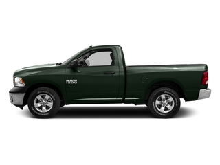Black Forest Green Pearlcoat 2016 Ram Truck 1500 Pictures 1500 Regular Cab SLT 2WD photos side view