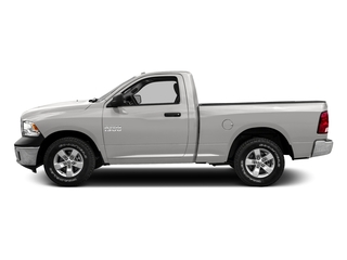 Bright Silver Metallic Clearcoat 2016 Ram Truck 1500 Pictures 1500 Regular Cab SLT 2WD photos side view