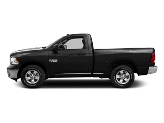 Black Clearcoat 2016 Ram Truck 1500 Pictures 1500 Regular Cab SLT 4WD photos side view