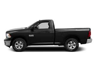 Black Clearcoat 2016 Ram Truck 1500 Pictures 1500 Regular Cab SLT 2WD photos side view