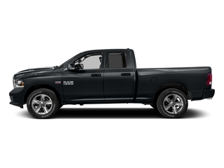Maximum Steel Metallic Clearcoat 2016 Ram Truck 1500 Pictures 1500 Quad Cab Sport 2WD photos side view
