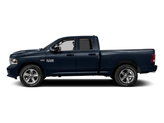 True Blue Pearlcoat 2016 Ram Truck 1500 Pictures 1500 Quad Cab Sport 2WD photos side view