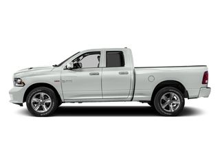Bright White Clearcoat 2016 Ram Truck 1500 Pictures 1500 Quad Cab Sport 2WD photos side view