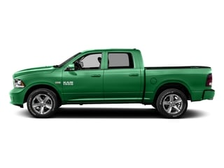 Bright Green 2016 Ram Truck 1500 Pictures 1500 Crew Cab Outdoorsman 4WD photos side view