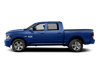 Blue Streak Pearlcoat 2016 Ram Truck 1500 Pictures 1500 Crew Cab Sport 2WD photos side view