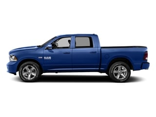 Blue Streak Pearlcoat 2016 Ram Truck 1500 Pictures 1500 Crew Cab Outdoorsman 4WD photos side view
