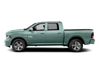 Light Green 2016 Ram Truck 1500 Pictures 1500 Crew Cab Outdoorsman 4WD photos side view