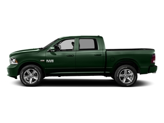 Timberline Green Pearlcoat 2016 Ram Truck 1500 Pictures 1500 Crew Cab Outdoorsman 4WD photos side view
