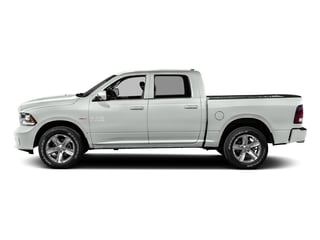 Bright White Clearcoat 2016 Ram Truck 1500 Pictures 1500 Crew Cab Express 2WD photos side view