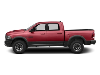 Flame Red Clearcoat 2016 Ram Truck 1500 Pictures 1500 Crew Cab Rebel 4WD photos side view