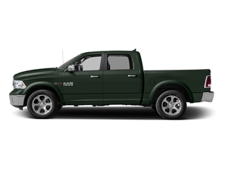 Black Forest Green Pearlcoat 2016 Ram Truck 1500 Pictures 1500 Crew Cab Laramie 2WD photos side view