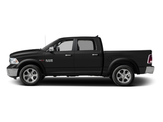 Brilliant Black Crystal Pearlcoat 2016 Ram Truck 1500 Pictures 1500 Crew Cab Laramie 2WD photos side view