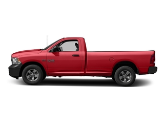Bright Red 2016 Ram Truck 1500 Pictures 1500 Regular Cab Express 2WD photos side view