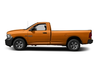 Omaha Orange 2016 Ram Truck 1500 Pictures 1500 Regular Cab Express 2WD photos side view