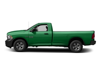Bright Green 2016 Ram Truck 1500 Pictures 1500 Regular Cab Express 2WD photos side view